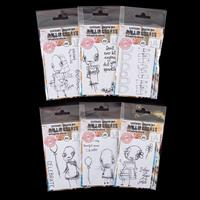 AALL & Create 6 x A7 Stamp Sets -  Lilith, Arches & Peeks, Asher,-570826