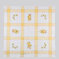 Permin Chicks Tablecloth Cross Stitch Kit - 85cm x 85cm-572789