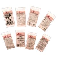 Woodware Spring Blooms Clear Stamp Collection - 30 Stamps-575657