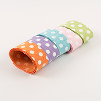 Eleganza Rio Ribbons Polka Dots 2m x 5 Colours-575950
