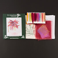 Rowandean Embroidery Aquilegia Kit-577294