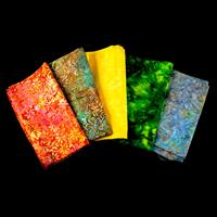 Funky Needle Work Rainbow Batik Pack - Large 600g-577412