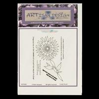 Artisan Design Funky Floral A6 Stamp Sheet - Funky 1-579154