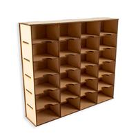 Lasersmith MDF Ink Storage Box-580934