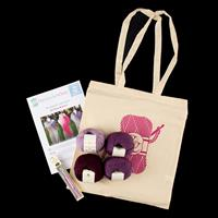 The Crochet Chain Perranporth Shawl Kit-581349