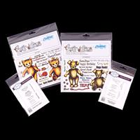 Creative Expressions 4 x Stamp Sets - Dogsbody, Kit Cat, Prints &-581625