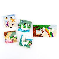 Pixelhobby UK Fairyland Scene Kit - 6 x Baseplates, 48 x Pixelsqa-581687