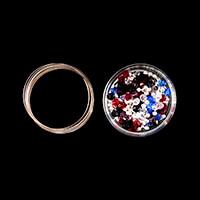 Impressions Crafts Memory Wire & Crystal Bracelet Kit - Makes 5-581783