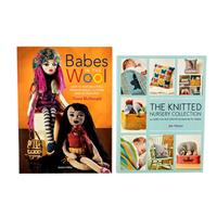 Search Press Set of 2 Knitting Books - Babes In The Wool & The Kn-582731