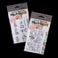 AALL & Create Clear Stamp Set - Chess Pieces and Clear Single Sta-584017