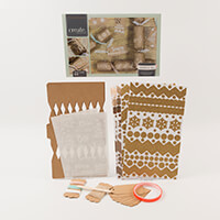 Crafters Companion Crackers & Tags Kit - 6 Pieces-586659