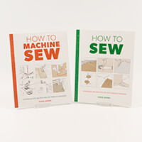 How to Sew and How to Machine Sew Books-586668
