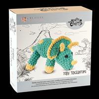 Knitty Critter - Toby Triceratops Crochet Kit-588558