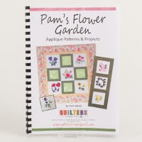 Quilters Trading Post 'Pam's Flower Garden' Applique Patterns & P-589123