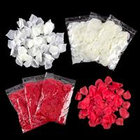 Craft Buddy 8 Packs of Fabric Rose Petals - 4 Red & 4 White-590171