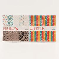 StickerKitten Dala Horse 2 15 x 15cm Paper Pads  - 30 sheets Per -591206