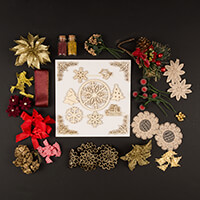 Dawn Bibby Gold Embellishment Selection-592011
