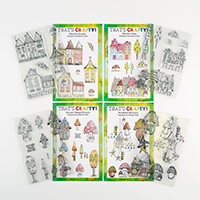 That's Crafty! 4 x A5 Shroom Stamp Collection-594326
