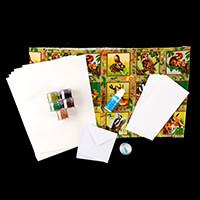 Glitter Magic 3D Fabric Decoupage Kit - Forest Friends-596229