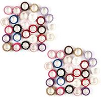 Craft Buddy Set of 56 Reels of Self Adhesive Lace - Assorted Colo-596844