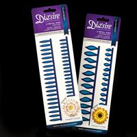 Die'sire Classiques Quilling Flower Dies - Daisy & Sunflower Duo-596870