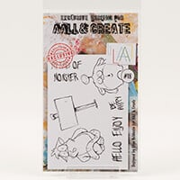 AALL & Create Stamp Set - Monster - 6 Stamps-598698