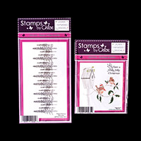 Stamps by Chloe Robins and Tree Border Stamp Duo-601276