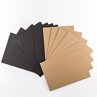 Dawn Bibby 50 sheets of Kraft & Black Cardstock-601482