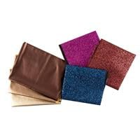 Fabric Freedom Metallic Leatherette and Glitter Fabric Complete B-604410