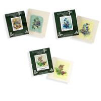 Rowandean Embroidery Floral Mini Kits Pick N Mix - Pick 3-604664