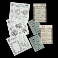Creative Expressions 3 x Stamp Plates & 2 x Studio 490 Stencils --608084