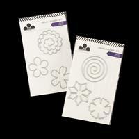 Craftwork Cards Create a Wreath Die Set -  6 Dies Total-608320