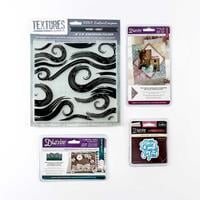 Die'sire - 3 x Die Sets & 1 x Embossing Folder - With Love, Cupid-609905