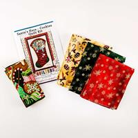 Quilter's Trading Post Santa's Here Quilt Kit 35