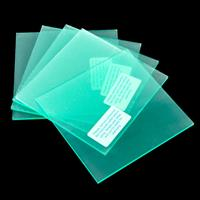 Easycraftideas Set of 5 Acrylic Blocks - 10x10cm-611395