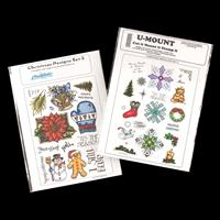 Creative Expressions 2 x A4 Stamp Plates - Christmas Collection --613242