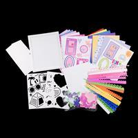 Romance & Vacation Scrapbooking Bundle With Postbound Album - Mak-613841
