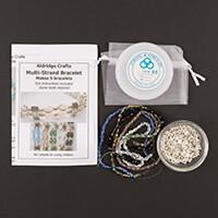 Aldridge Crafts Super Sparkle Multi-Strand Bracelet Kit-616130