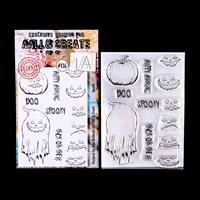 AALL & Create A5 Stamp Set - Spooks - 12 Stamps-616181