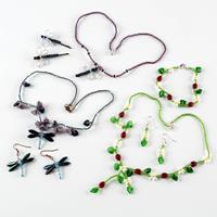 Spellbound Beads Ladybirds & Dragonflies Kit - Makes Necklaces, B-616497