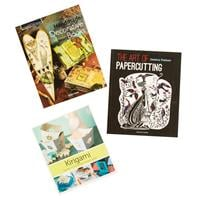 Search Press Set of 3 Paper Crafting Books - Papercutting, Handma-616725