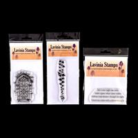 Lavinia Stamps 3 x Stamps - Secret Garden, Falling Ivy & Embrace -617356