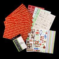 Christmas Die, Die Cuts & A4 Cardstock Set - Assorted Designs - 1-618949