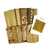 Fabric Freedom Pack of 2 Quilt Kits with Pattern - 100% Cotton-619938