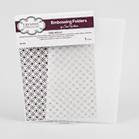 Creative Expressions A4 Embossing Folder by Sue Wilson - Tied Hol-620048