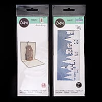 Sizzix® Thinlits™ - Pop Up House by Sharon Drury & Landscape Bord-620431