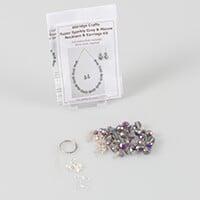 Aldridge Crafts Sparkle Necklace & Earring Kit-621166