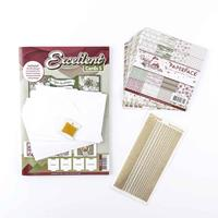 Add Some Sparkle Excellent Christmas Paper Embroidery Kit - Makes-621578