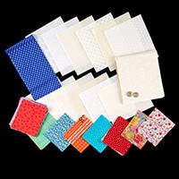 Daisy & Grace 100% Cotton Fabric Bundle with Magnetic Bag Clasp-621591