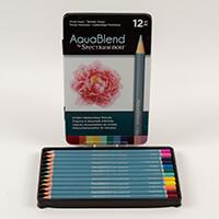 Spectrum Aquablend Pencils x 12 - Vivid Hues-623893
